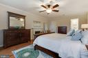 Master Suite Wood-burning Fireplace - 4003 LATHAM DR, HAYMARKET