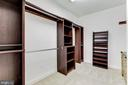 Walk-In Closet - 7812 SWINKS MILL CT, MCLEAN