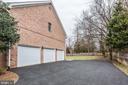 Three-Car Garage - 7812 SWINKS MILL CT, MCLEAN