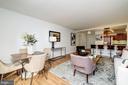 Generous floor plan - 700 NEW HAMPSHIRE AVE NW #821, WASHINGTON
