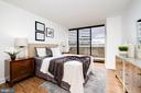 Spacious second bedroom - 700 NEW HAMPSHIRE AVE NW #821, WASHINGTON