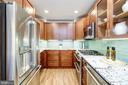 Striking gourmet kitchen - 700 NEW HAMPSHIRE AVE NW #821, WASHINGTON