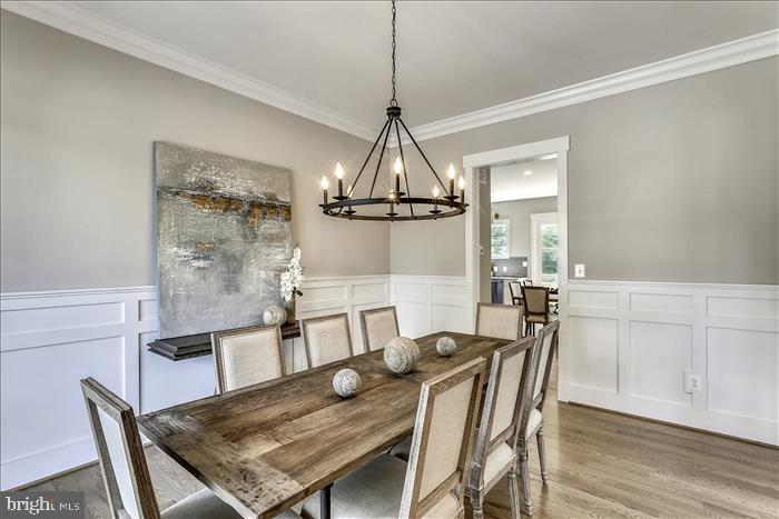 Builder's previously completed home - Dining Room - 2103 GREENWICH ST, FALLS CHURCH