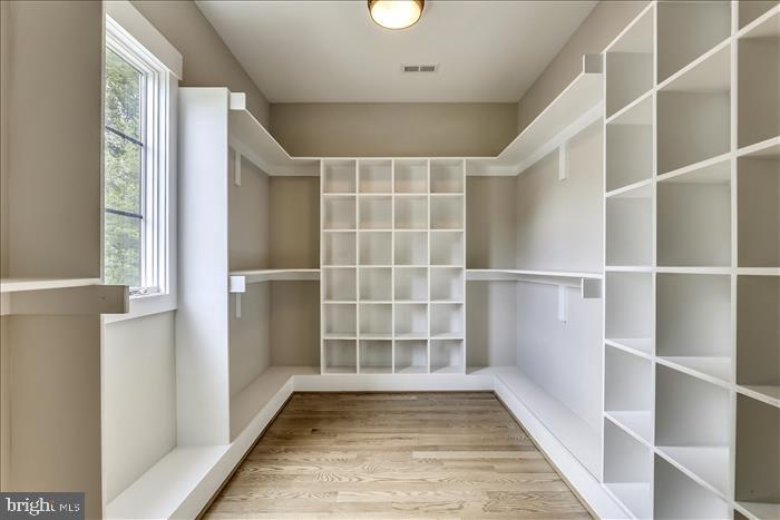 Builder's previously completed home- Master Closet - 2103 GREENWICH ST, FALLS CHURCH