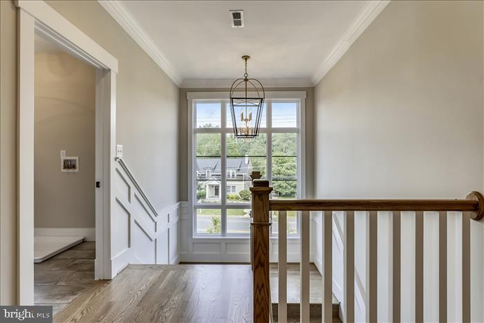 Builder's previously completed home - Stairway - 2103 GREENWICH ST, FALLS CHURCH