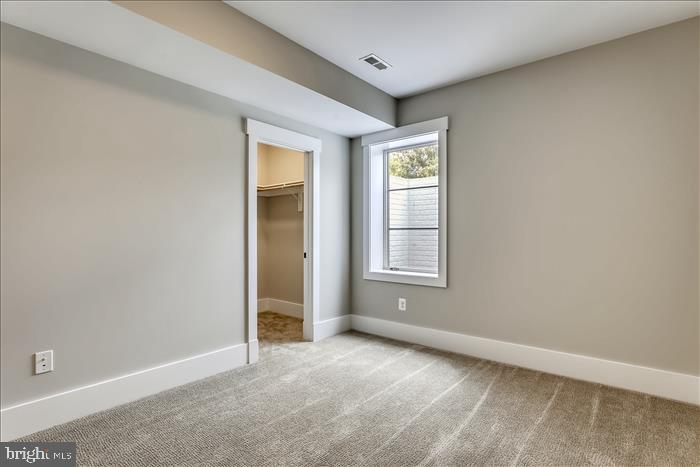 Builder's previously completed home - Basement BR - 2103 GREENWICH ST, FALLS CHURCH