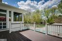 Or the deck. - 11134 STEPHALEE LN, NORTH BETHESDA