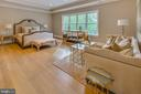 With a tray ceiling and lots of natural light. - 11134 STEPHALEE LN, NORTH BETHESDA