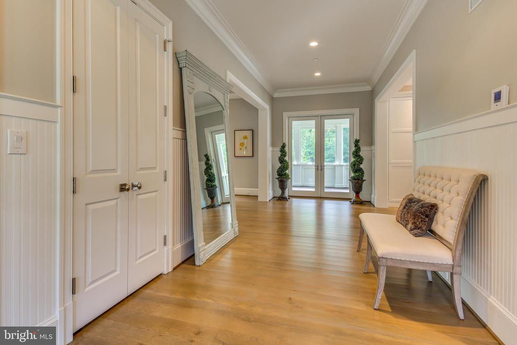 Once inside, the spacious foyer draws you in. - 11134 STEPHALEE LN, NORTH BETHESDA