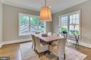 On the other side, the casual breakfast room. - 11134 STEPHALEE LN, NORTH BETHESDA