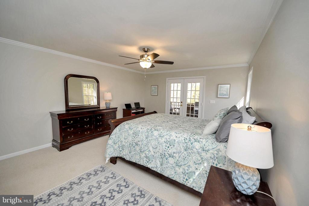 Enter the screened porch from your bedroom or deck - 104 CEDAR CT, LOCUST GROVE