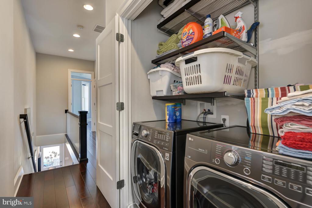 W/D on bedroom level - 223 11TH ST SE, WASHINGTON
