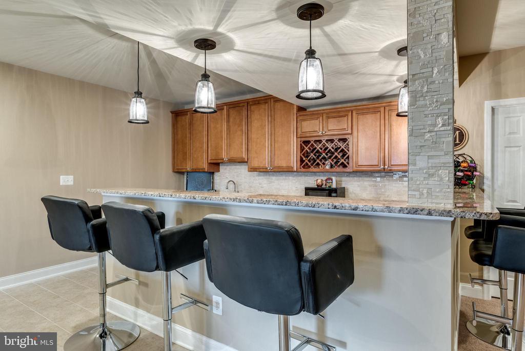 Lower level bar area - 44629 GRANITE RUN TER, ASHBURN