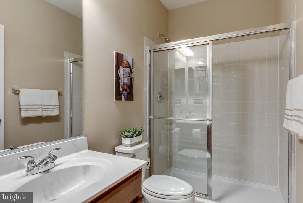 Lower level full bath - 44629 GRANITE RUN TER, ASHBURN