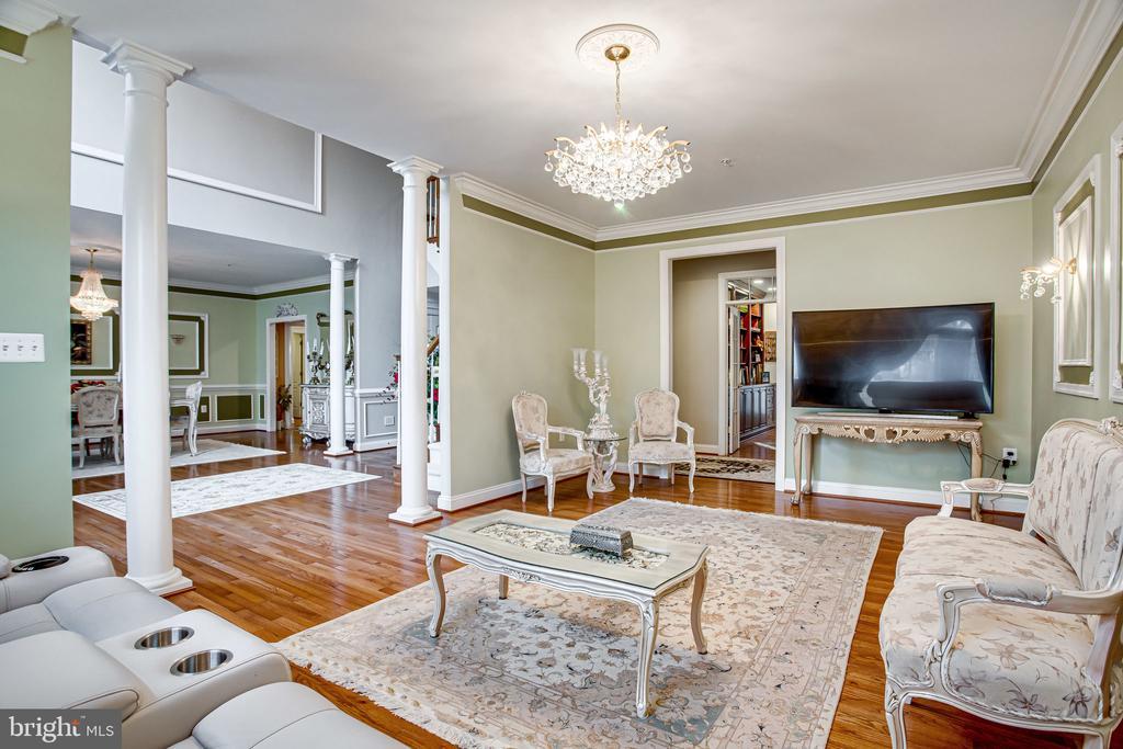 Living Room - 12249 MCDONALD CHAPEL DR, GAITHERSBURG