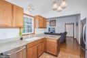 Kitchen with Granite - 217 MEADOWVIEW LN, LOCUST GROVE
