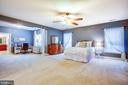 Master bedroom suite - 6 SCARLET FLAX CT, STAFFORD