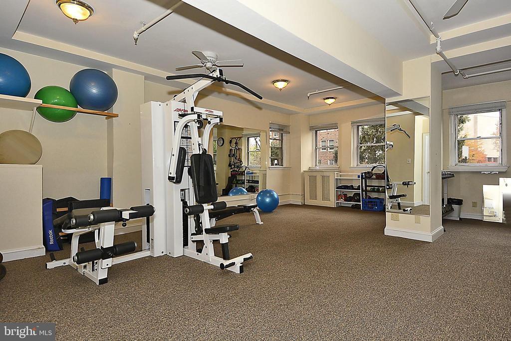 Exercise Room - 3601 CONNECTICUT AVE NW #700B, WASHINGTON