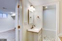 Basement full bath - 2626 4TH ST NE, WASHINGTON