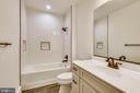 Lower level full bathroom - 0 JEFFERSON ST, HERNDON