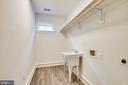 Upper level laundry room area - 0 JEFFERSON ST, HERNDON