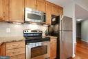 Stainless steel appliances - 888 N QUINCY ST #1701, ARLINGTON