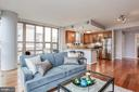 Open floor plan - 888 N QUINCY ST #1701, ARLINGTON