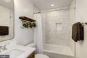 Complete Reno of Hall Bath #2 - Gorgeous Tile! - 6320 24TH ST N, ARLINGTON