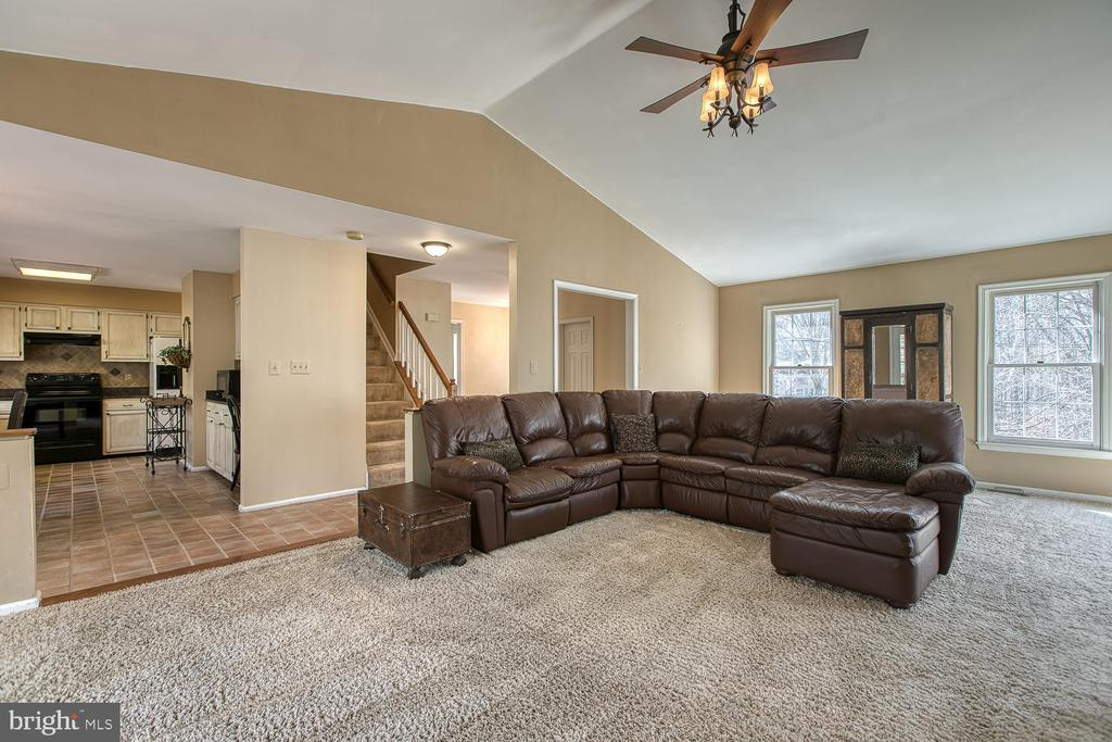 Huge family room - 3220 TITANIC DR, STAFFORD