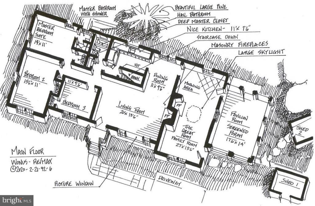 ain Level Floor Plan - 9020 SOUTHWICK ST, FAIRFAX