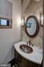 Informal Powder Room - 9005 CONGRESSIONAL CT, POTOMAC