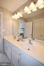 Jack n Jill bath between bedrooms 3 and bedroom 4 - 1590 MONTMORENCY DR, VIENNA