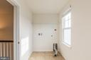Large laundry room - 17156 BELLE ISLE DR, DUMFRIES