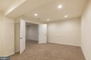 Media room? Hobby room? Gym? Play area? You decide - 17156 BELLE ISLE DR, DUMFRIES
