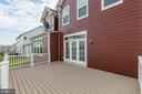 Low maintenance deck space. - 17156 BELLE ISLE DR, DUMFRIES