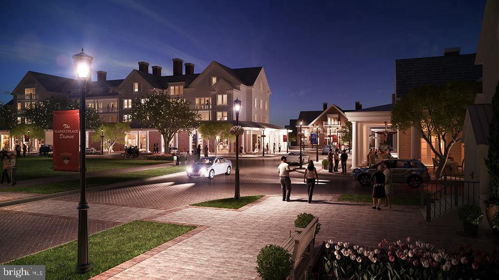 Artist rendering of future town center - 17156 BELLE ISLE DR, DUMFRIES