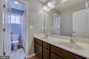Upper Level Bathroom with Window - 137 GARDENIA DR, STAFFORD