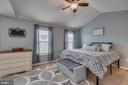 Master Bedroom, Ceiling Fan - 137 GARDENIA DR, STAFFORD