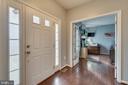 Foyer with Side Paneled & Door Windows - 137 GARDENIA DR, STAFFORD