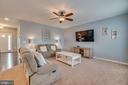 Open Concept Family Room, Ceiling Fan - 137 GARDENIA DR, STAFFORD