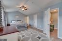 Extended Master Bedroom - 137 GARDENIA DR, STAFFORD