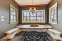 Breakfast Area with Gorgeous Views - 15730 OLD WATERFORD RD, PAEONIAN SPRINGS