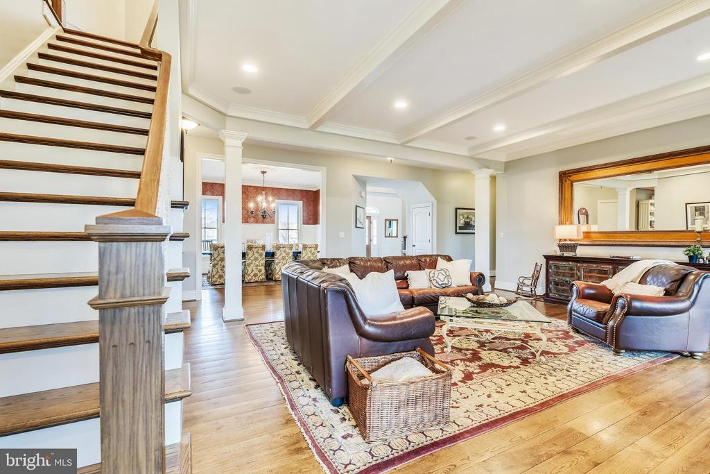 Amazing Great Room with Stone Fireplace - 15730 OLD WATERFORD RD, PAEONIAN SPRINGS