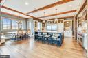 Amazing Kitchen w/Antique butcher block island - 15730 OLD WATERFORD RD, PAEONIAN SPRINGS