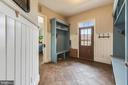 Mud Room - 15730 OLD WATERFORD RD, PAEONIAN SPRINGS