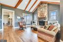 Alternate View of Family Room - 15730 OLD WATERFORD RD, PAEONIAN SPRINGS
