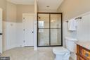Upper Level Secondary Full Bathroom - 15730 OLD WATERFORD RD, PAEONIAN SPRINGS