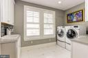 2nd Floor Laundry Room with South River views - 203 CAPE SAINT JOHN RD, ANNAPOLIS