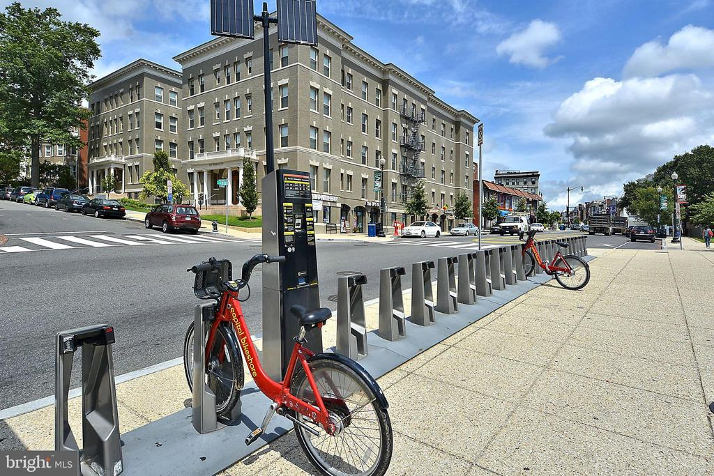 Bike Share - 1801 CLYDESDALE PL NW #224, WASHINGTON