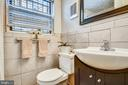 Bathroom with window to let in light - 1801 CLYDESDALE PL NW #224, WASHINGTON